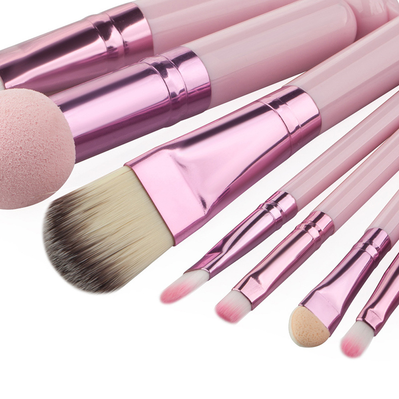 8PCS Pink Ht Makeup Brush More Stcok Avaiable OEM Accept