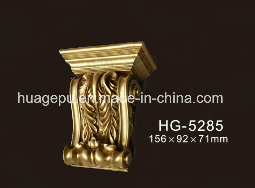 Factory Price Polyurethane PU Ornaments PU Foam Exotic Corbel