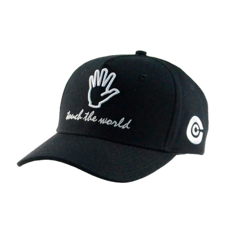 Wholesale Black/Gray 5 Panels Cotton Baseball Cap