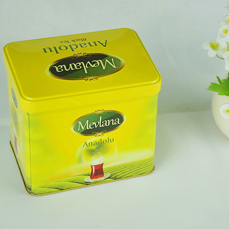 Factory Manufacture Promotional Chinese Tea Tin