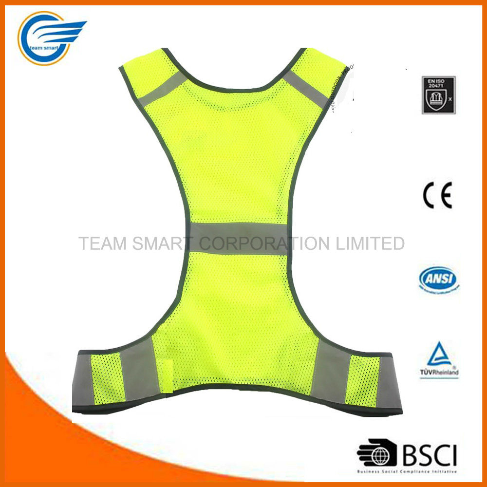 Amazon Hot Selling Reflective Safety Running Vest for Runner