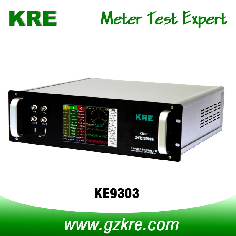 Class 0.02 120A 480V Three Phase Reference Standard Meter with Pulse Input
