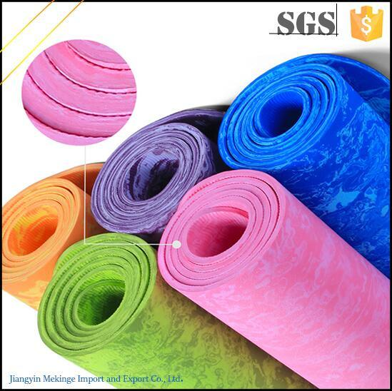 Tasteless TPE Yoga Mat Custom Printed