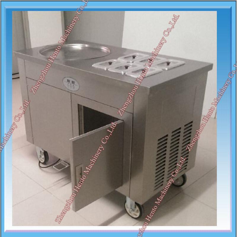 2017 Hot Sale Flat Pan Fried Ice Cream Machine