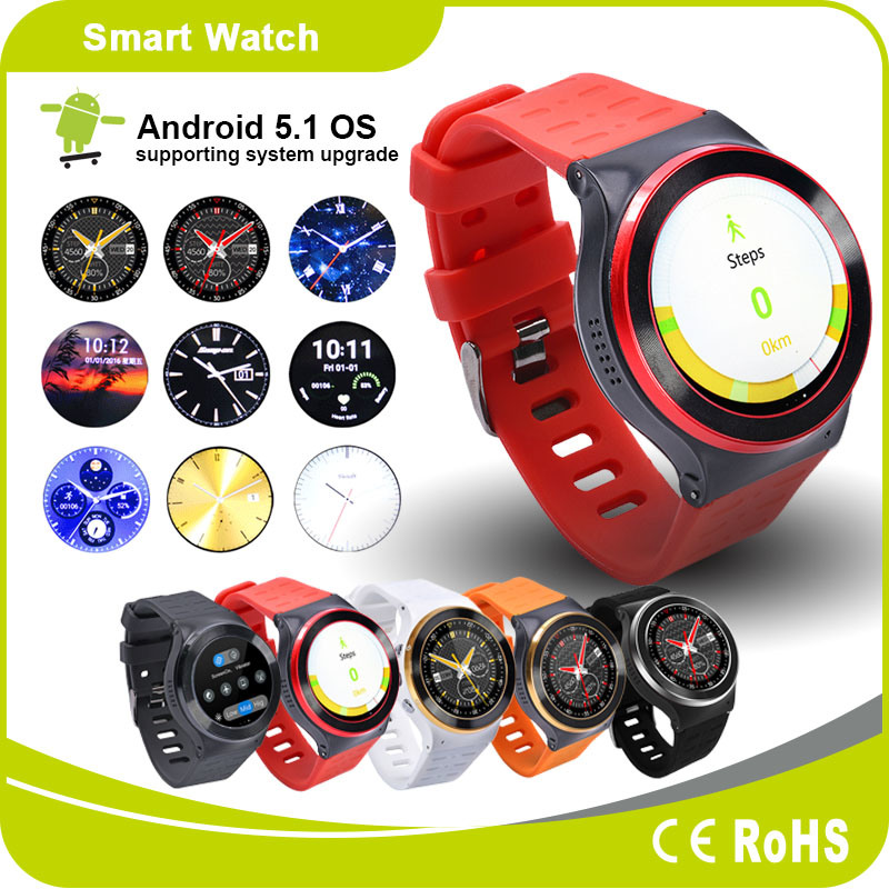 Android Watch Mobile Phone Bluetooth Smart Watch Heart Rate GPS Pedometer Smart Watch