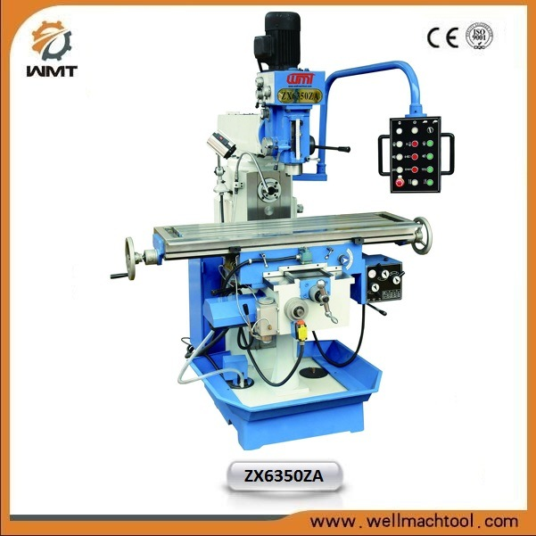 Zx6350za China Drilling Milling Machine with Tapping Function