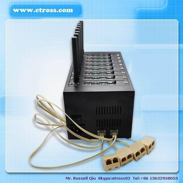 USB/RS232 8 Ports GSM SMS Modem Pool for Sending Bulk SMS