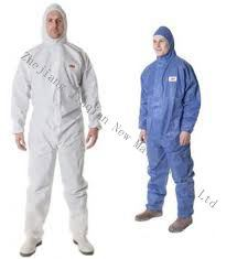 Breathable S. Fmicroporous Nonwoven Fabric for Protective Coverall