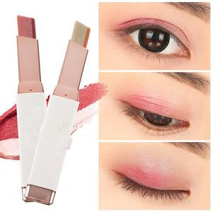 Popular Double Colors Stereo Korea Makeup Eye Shadow Stick/ Sumudger