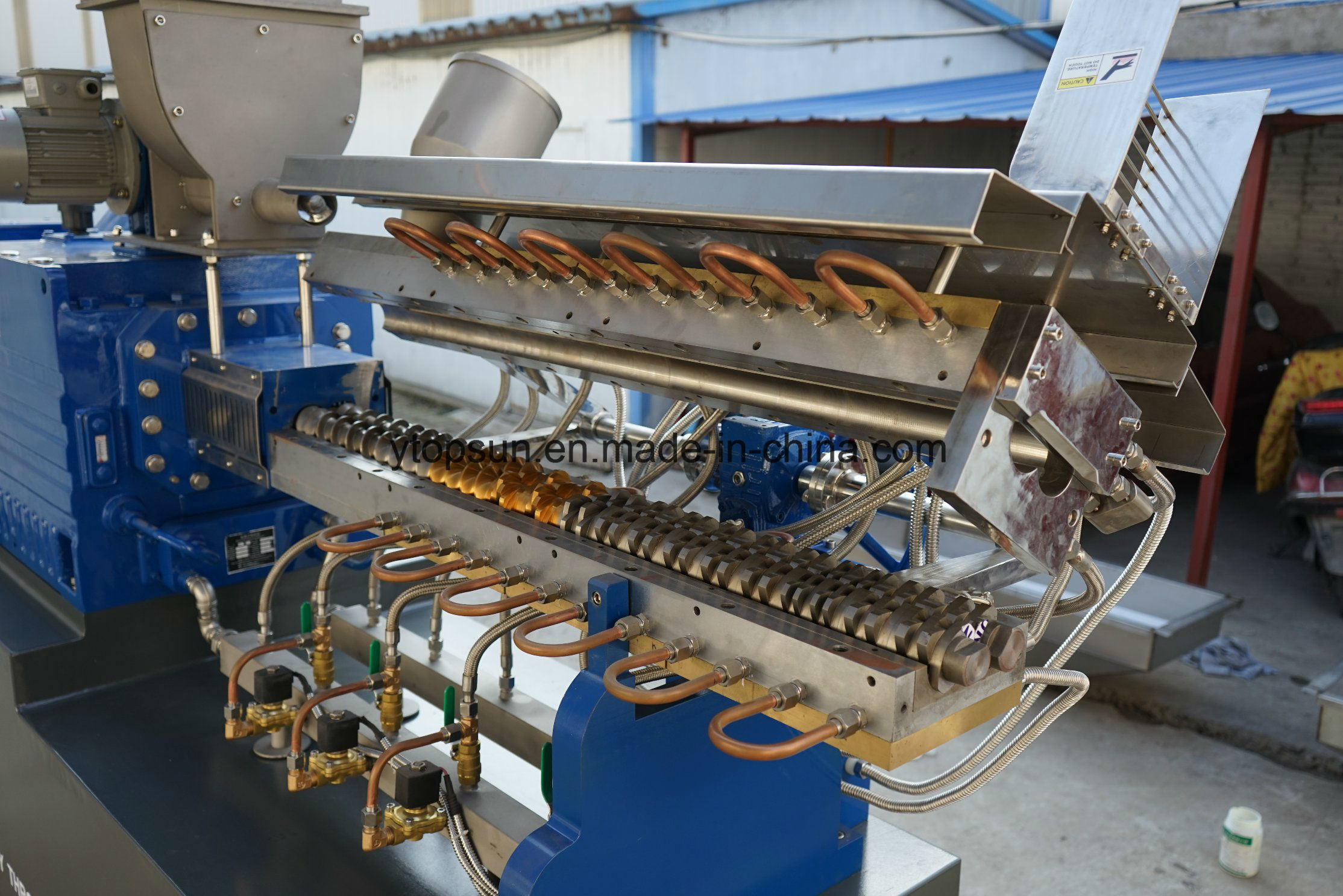 High Torque & High Speed Rotation Twin Screw Extruder