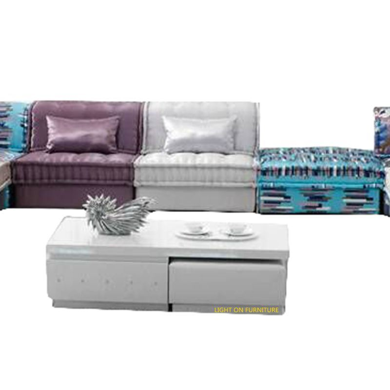 Classical Design Living Room Fabric Sectional Sofa (F895)