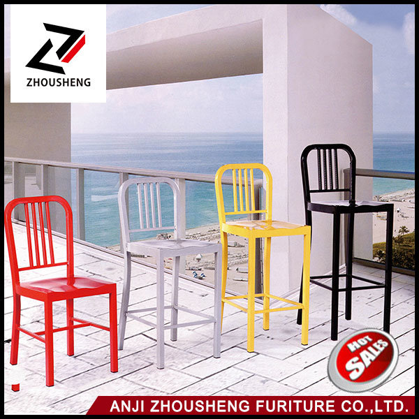 Manufacturer of Cast Matel Navy Dining Chairs Zs-T-1018