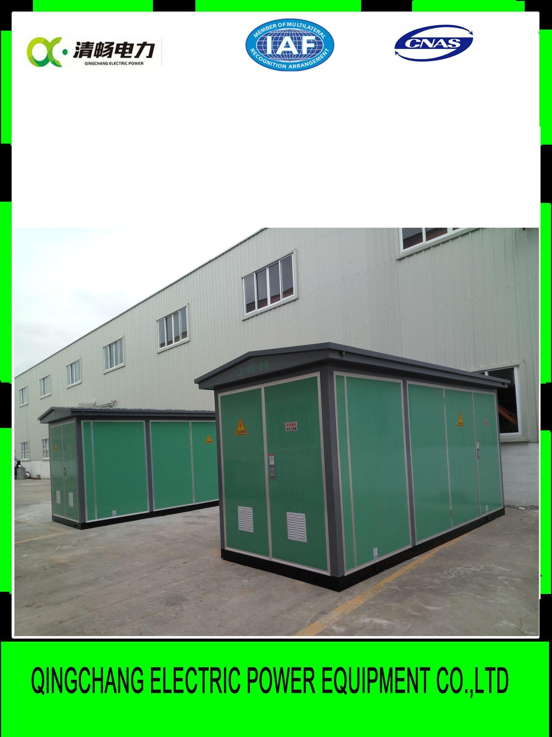 Mv / LV Prefabricated Substation Yb Moveable
