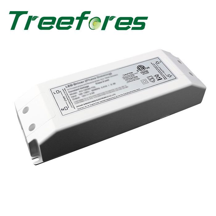 Triac Dimming LED Transformer 75W 12V 24V DC Power Regulator