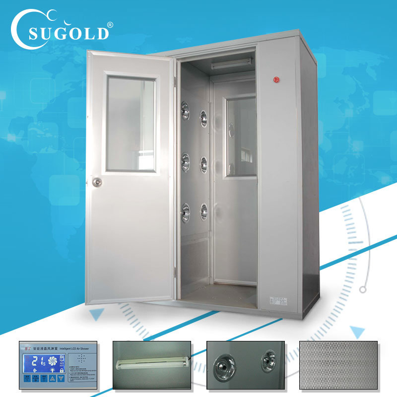 Single-Double Stainless Steel Air Shower