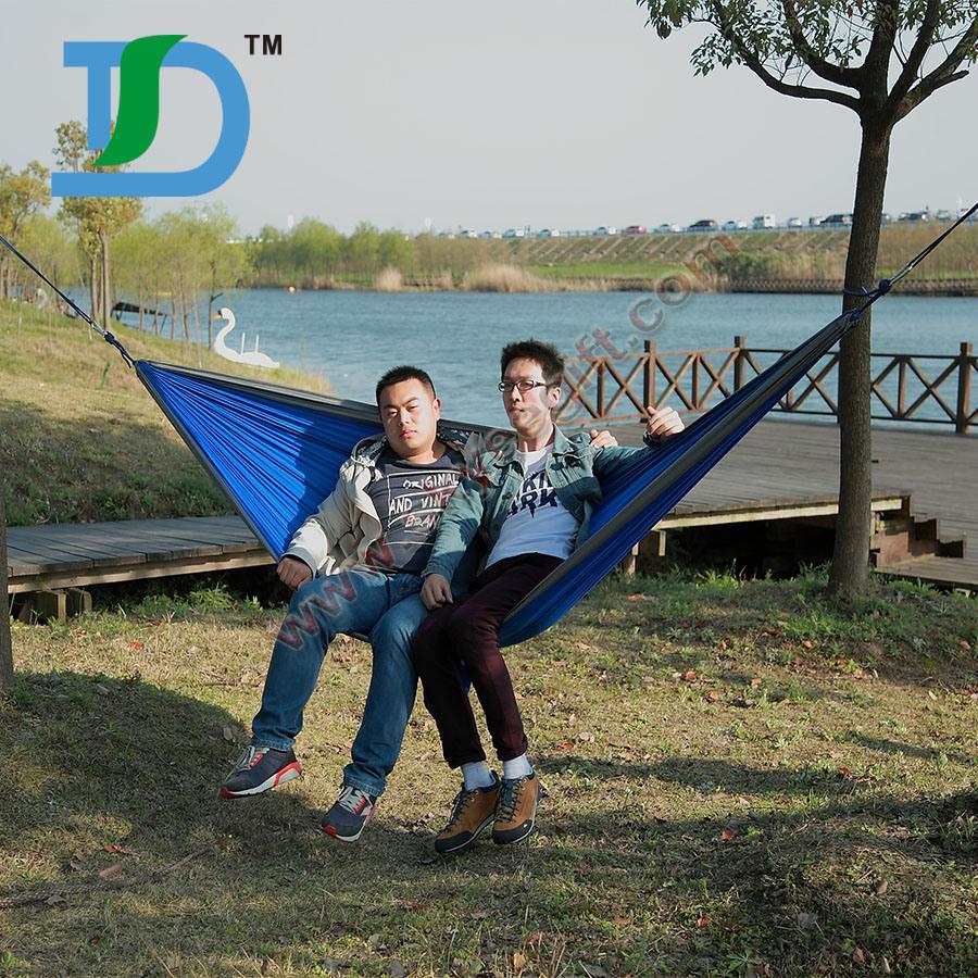 Garden Outdoor Camping Parachute Double Hammock
