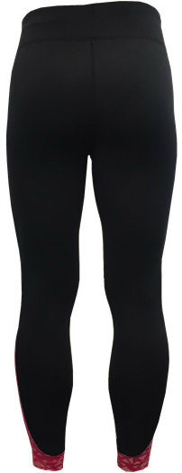 Women′s Knitted Pants with Allover Reflective Print on Inserted Fabric Sportswear