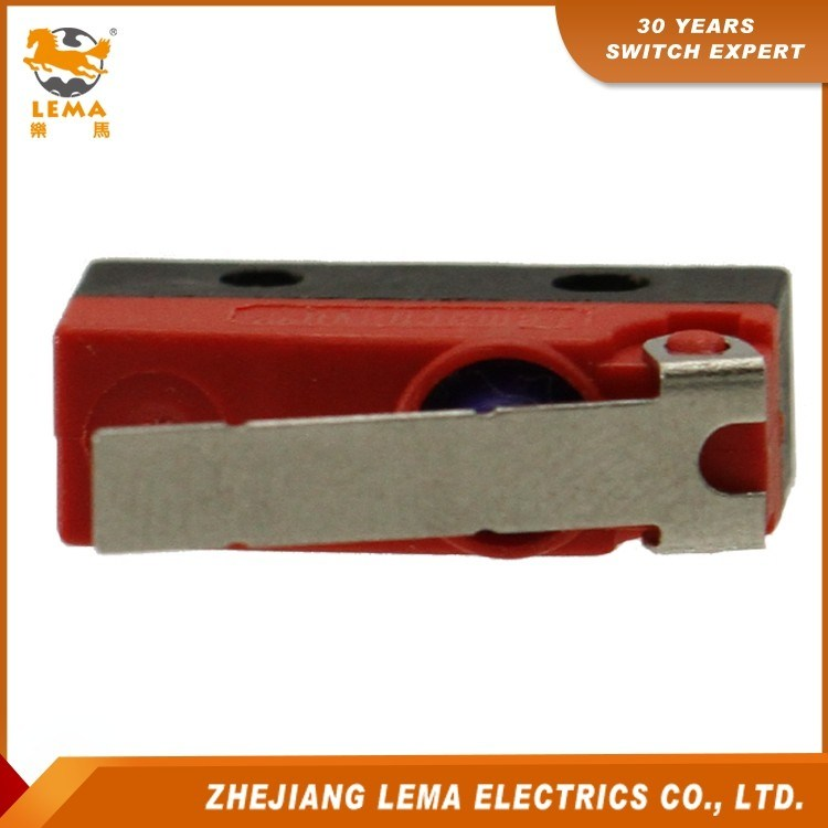Lema Kw12f-1 Waterproof IP67 Short Lever Micro Switch