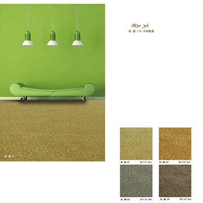 Polypropylene Single Twist Stereotypes Tufting Carpet
