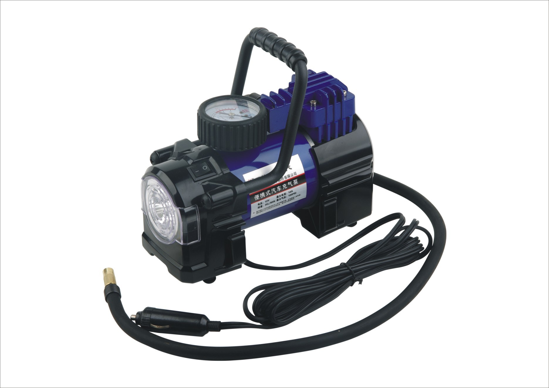 DC 12V 150psi Mini Air Compressor for Car