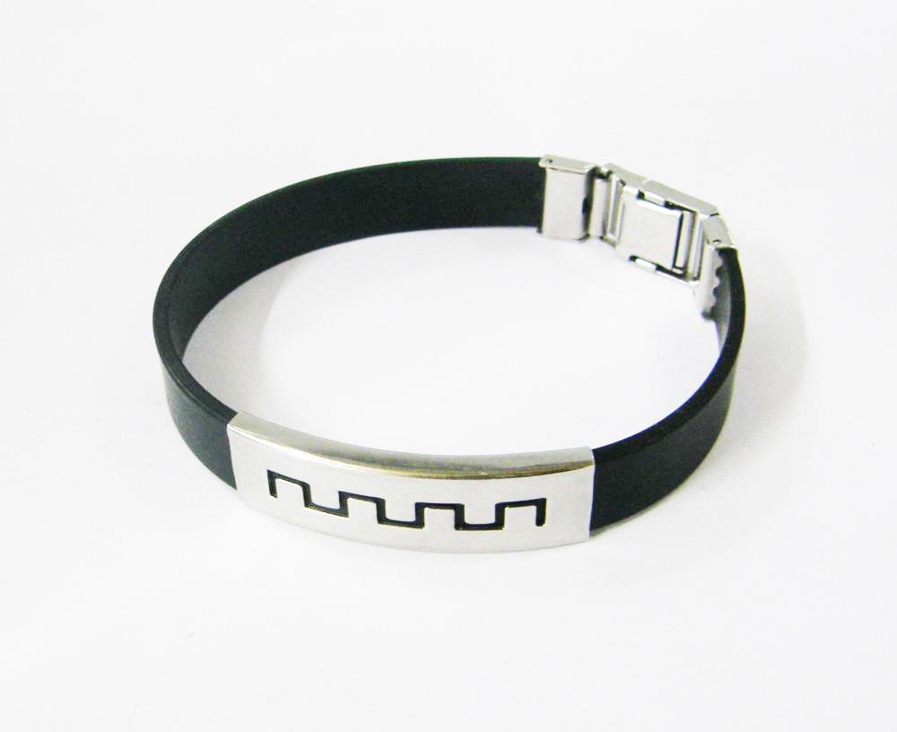 Scalar Silicon Bracelet