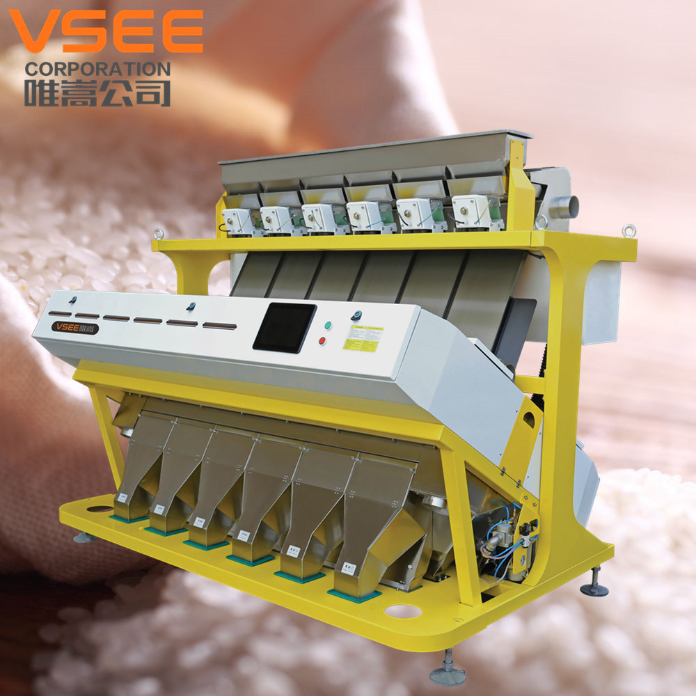 2017 High Quality Hot Selling CCD RGB Rice Colour Sorter