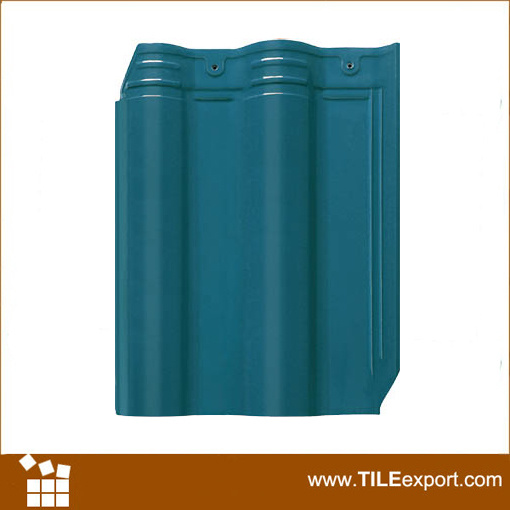 Hot Sale Villa Interlocking Glazed Terracotta Clay Ceramic Roof Tile
