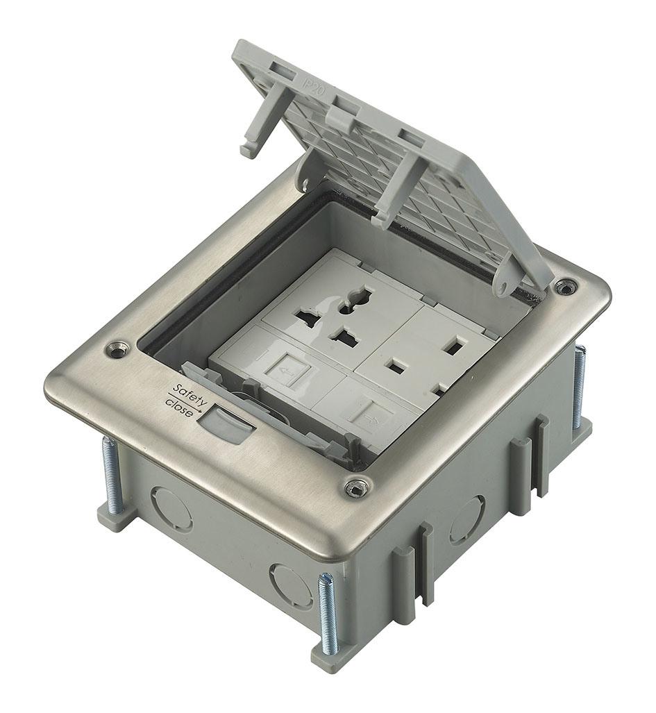 IP66 Outdoor Waterproof Instabus Eib Functionfloor Socket Junction Box Outlet