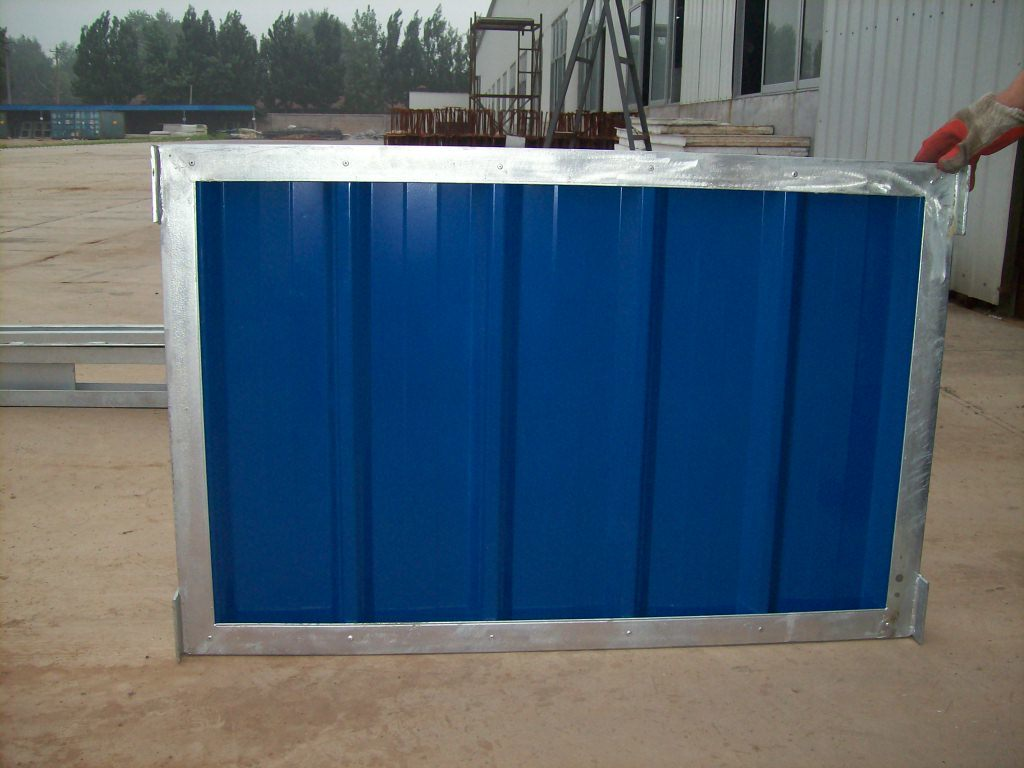 Prefabricated steel fence photos pictures