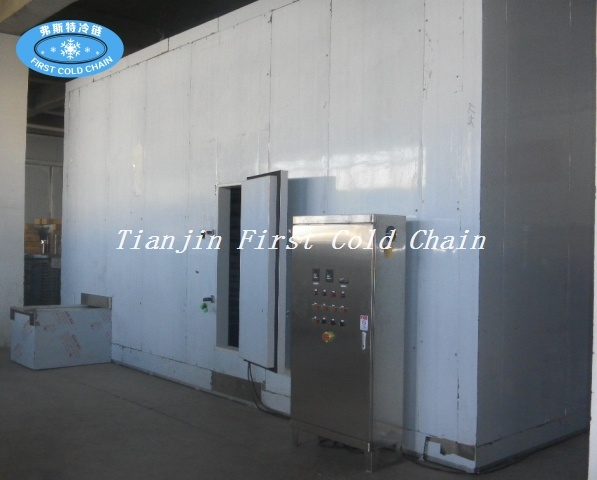 Quick Freezing High Efficiency Spiral Freezer Machine for China