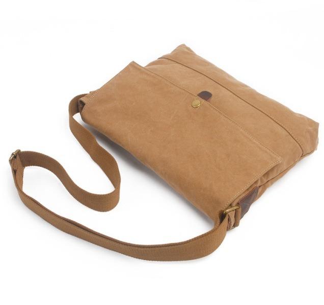 Designer Wholesale Unisex Canvas Shoulder Bag Satchel (RS- 6003)