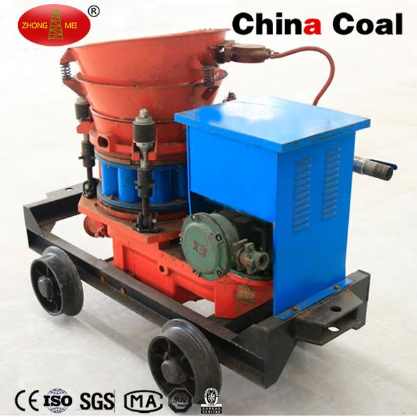 Construction Mining Tunneling Pz-3 Dry Mix Concrete Shotcrete Gunite Machine