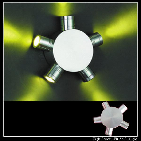 China High Power LED Wall Light 5x1W (WL0501) - China Led Wall Light, High Power Led Lamp