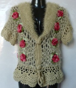 CROCHET SWEATER WITH FLOWERS ? Only New Crochet Patterns
