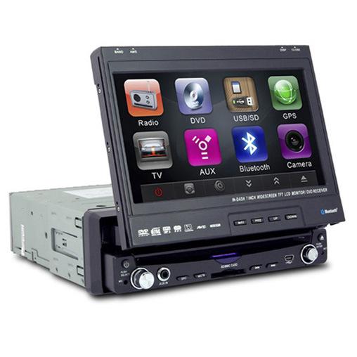 Detachable touch screen radio
