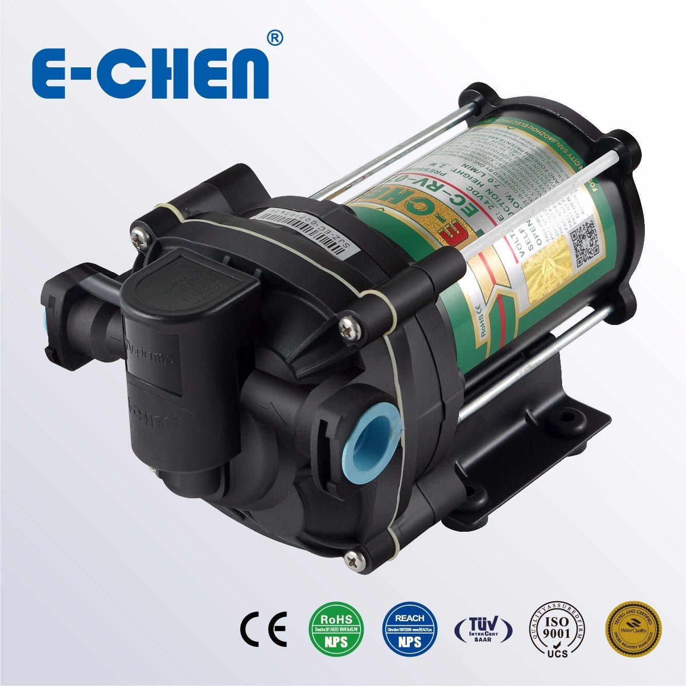 E-Chen Diaphragm Delivery Pump Open Flow 10L/M 65psi Shut-off Pressure Switch