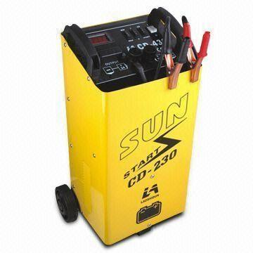 Car booster battery charger