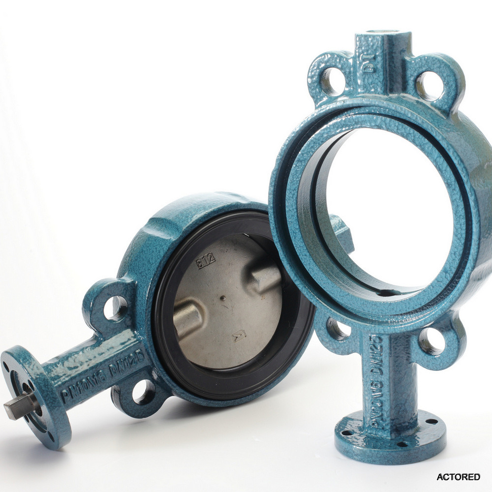 Ss 316 Concentric Soft Sealed Wafer Butterfly Valve with Long Life