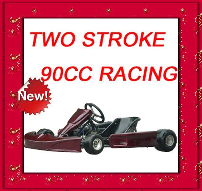 2 stroke 90cc racing go kart