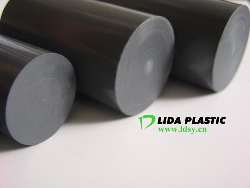 PVC Dark Grey Rod