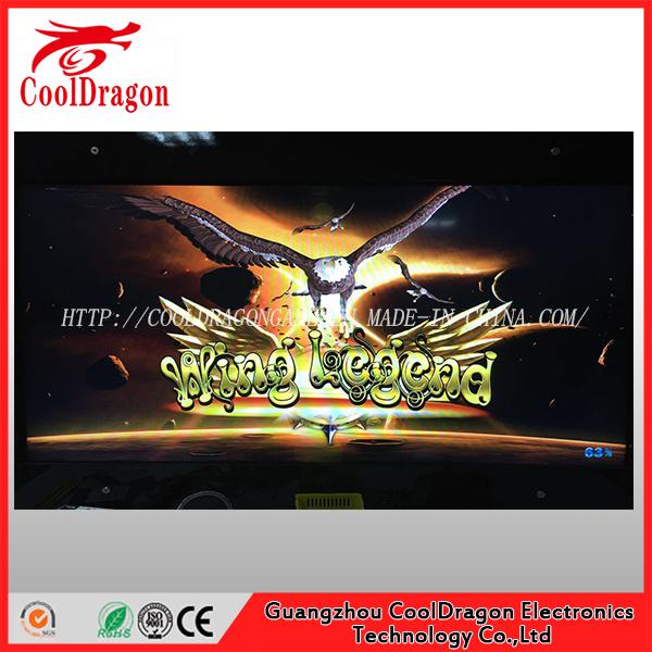 Wing Legend Arcade Game Machine Shooting Bird/Fish/Fishing Hunter Game Board