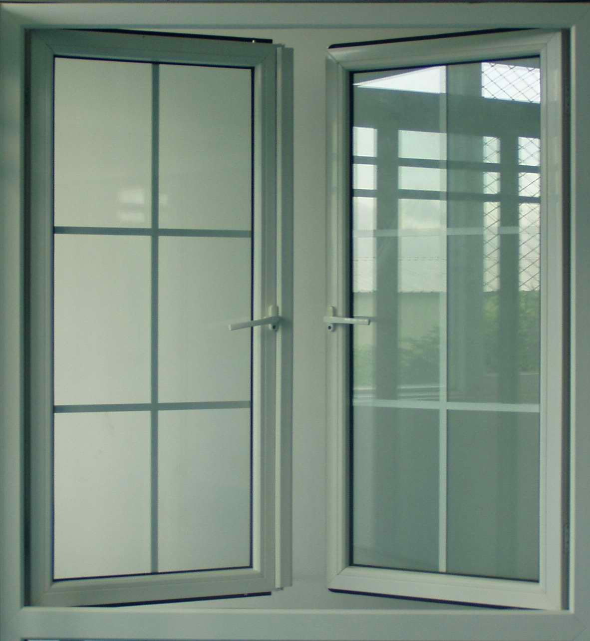China aluminum swing in casement windows p1060001 for Metal windows