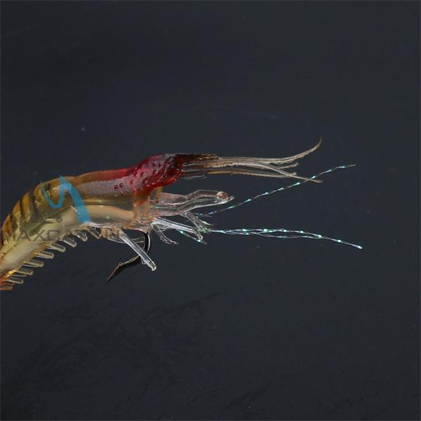 Chinese Free Sample Luminous Soft Plastic Shrimp