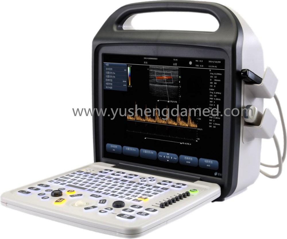 Hospital Diagnostic Medical Equipment 3D/4D Portable Color Doppler Ultrasound