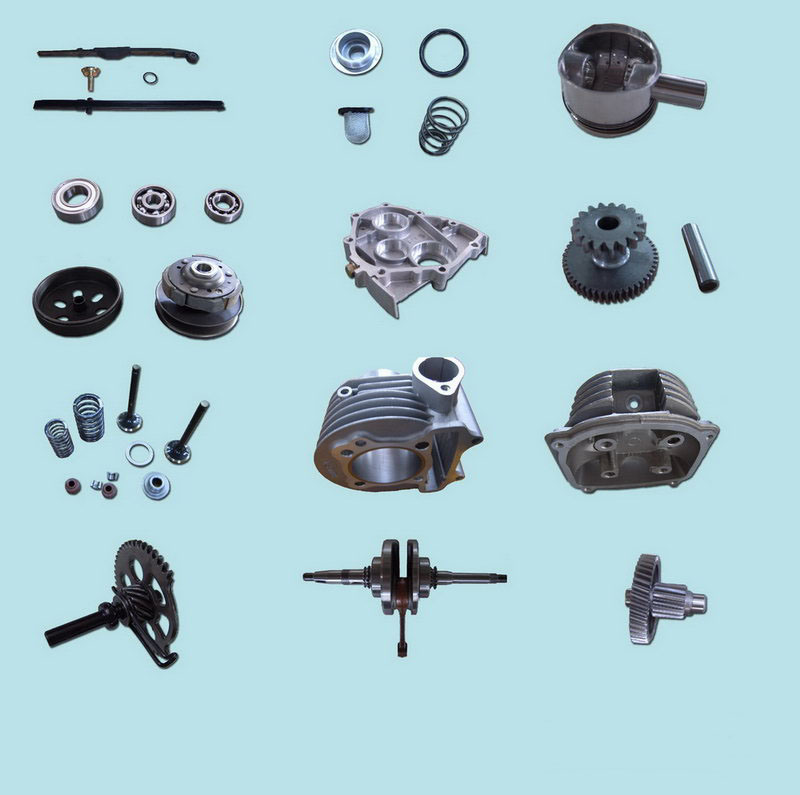 Motorcycle Motor Parts : China motorcycle scooter dirt bike engine parts