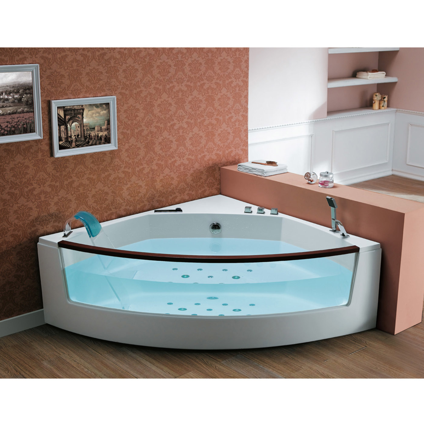 China Luxury Massge Bathtub CE Certification Photos Pictures Made In
