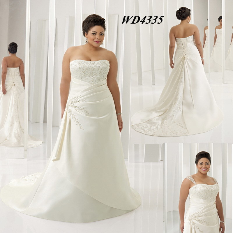 Plus Size Wedding Dresses Hong Kong : China plus size wedding dress wd