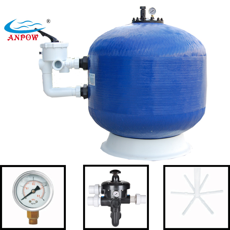 Quartz Sand Filter : China side mount swimming pool quartz sand filter photos