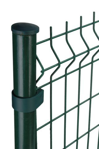 The PVC Coated Welded Wire Mesh Privacy Fence Parts (Anjia-040)