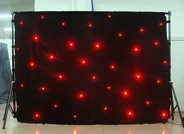 Stage Equipment RGB Star Curtain/LED Curtain